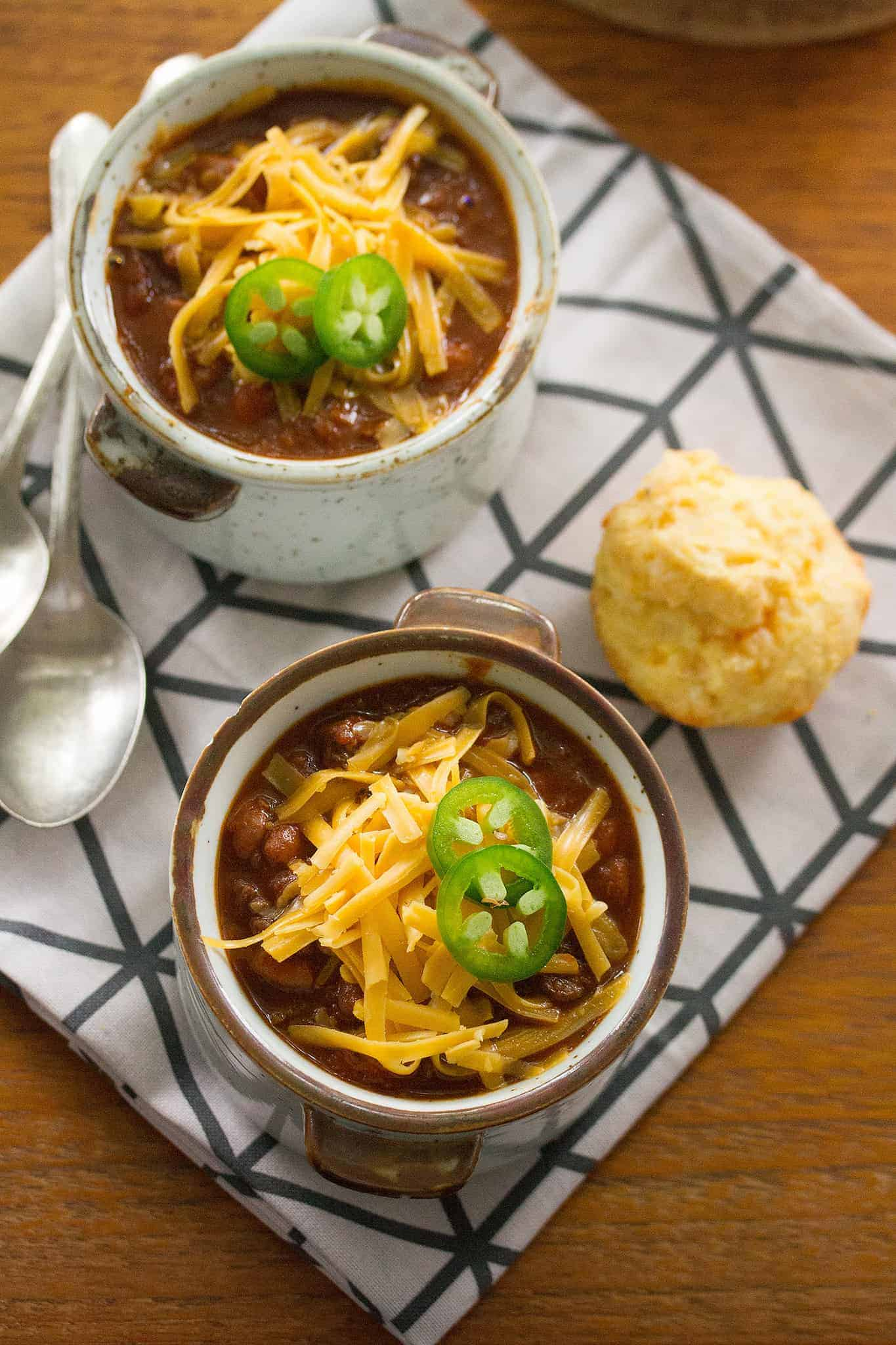 Jalapeno Business: Chunky Chuckwagon Chili