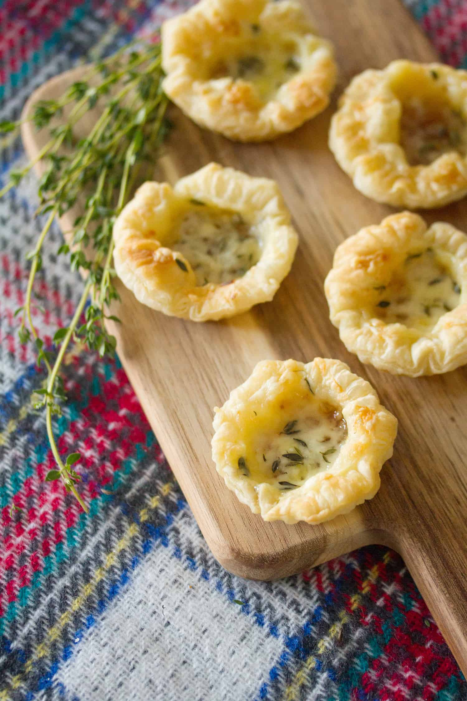 Easy Peasy, Fig and Cheesy: Fig and Cheese Tartlets
