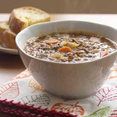 Crazy Lentil Thing Called Love: Lentil Soup with Bacon