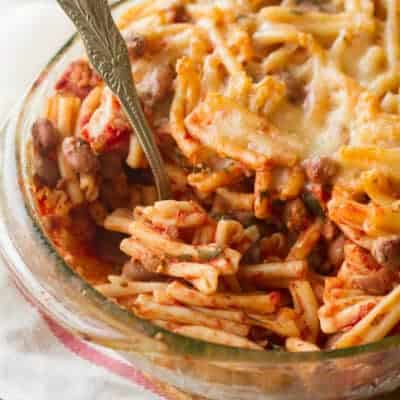 Best Laid Plans: Sausage and Bean Pasta Bake