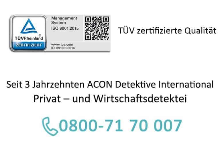 Detektei-Acon-Kontakt