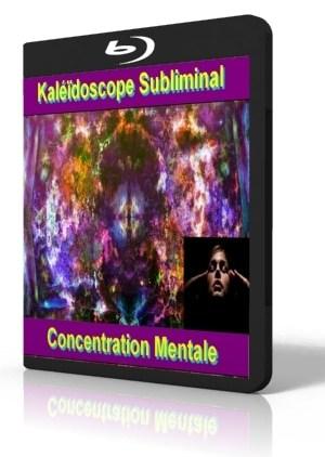Kaléidoscope vidéo subliminale concentration mentale et développer le focus