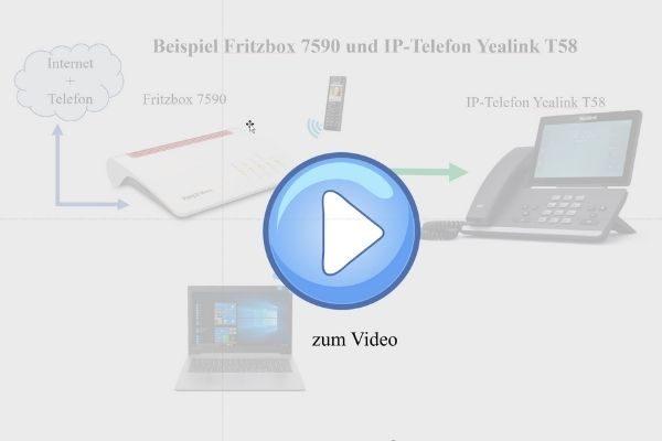 Yealink mit Fritzbox verbinden
