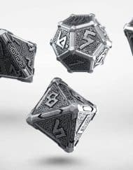 Polydice Set Q-Workshop Metal Mythical Dice