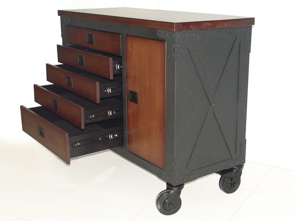 Rolling Tool Chest 5 drawers 48