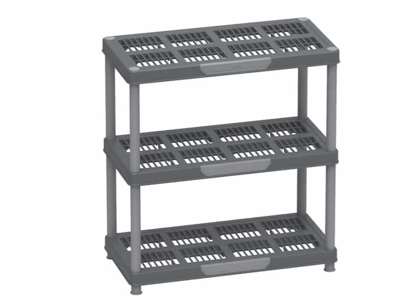Multipurpose Freestanding 3 Tier Shelving