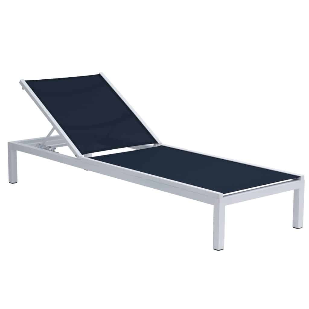 Niki Lounger Grey Navy