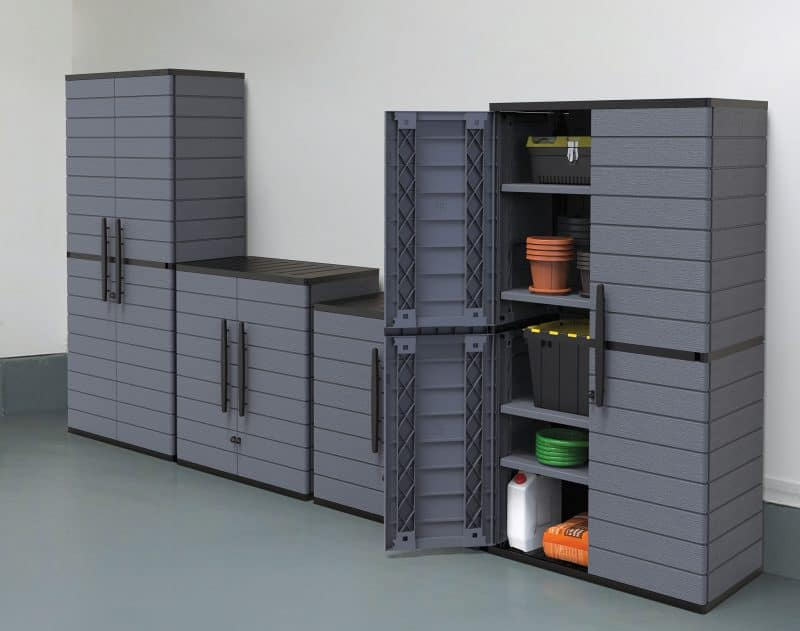 Resin Vertical Cabinets