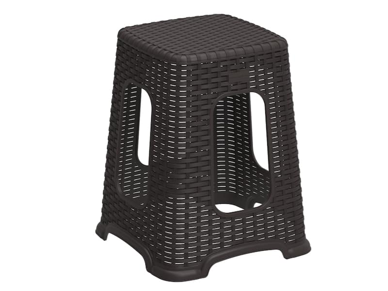 Cedarattan Resin Step Stool Tall
