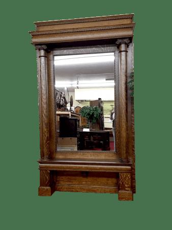antique full length wall mirror