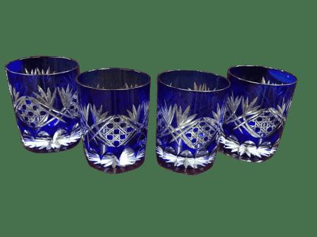 blue bohemian glasses