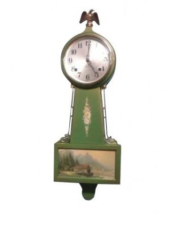 Green Sessions Banjo Clock
