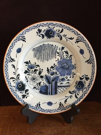 delft colonial williamsburg plates