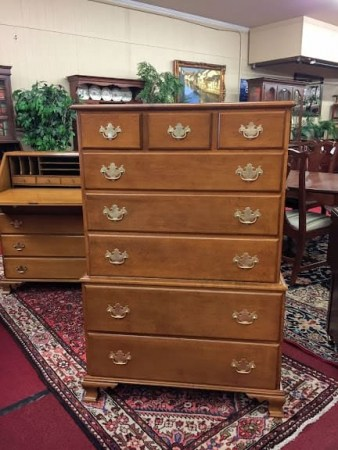 Beals Maple Chest on Chest