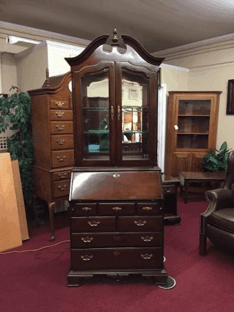 Thomasville Lighted Secretary Desk