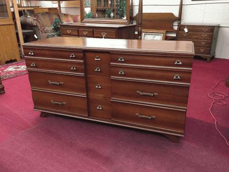 Kling Mid Century Modern Triple Dresser
