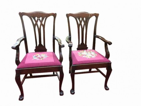Antique Dining Room Armchairs