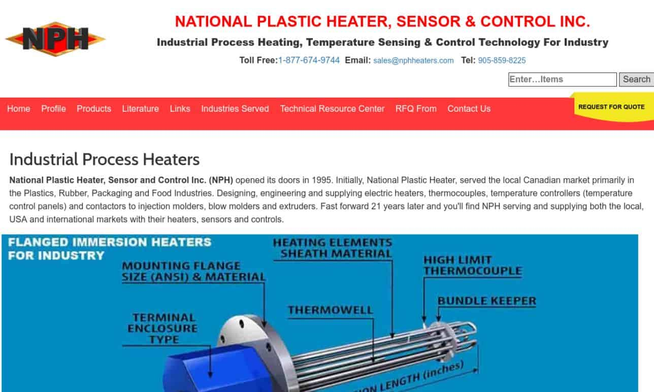 More Electric Heater Manufacturer Listings