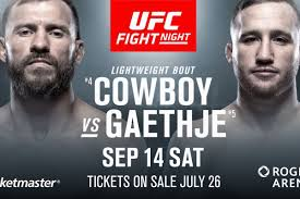 BenMR: UFC Fight Night 158 (Cerrone vs Gaethje) – September 14, 2019