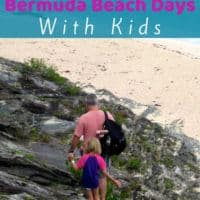 Bermuda has beautiful public beaches. Exploring them are a a cheap and fun thing to do with kids. Here are 3 beach days with ideas for lunch. They work whether you are staying on a cruise ship or in a local hotel. #bermuda #beach #vacation #thingstodo #kids