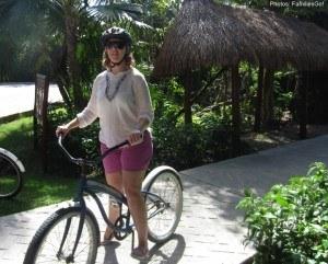 Biking at grand bahia principe