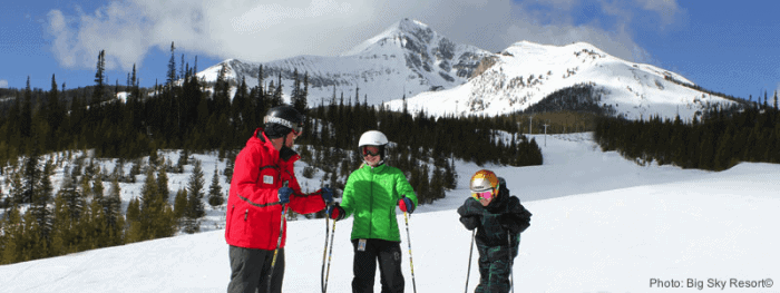 Kids can ski free at big sky, mo