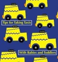 Tips for finding and taking a taxi with kids in a city you don't know.