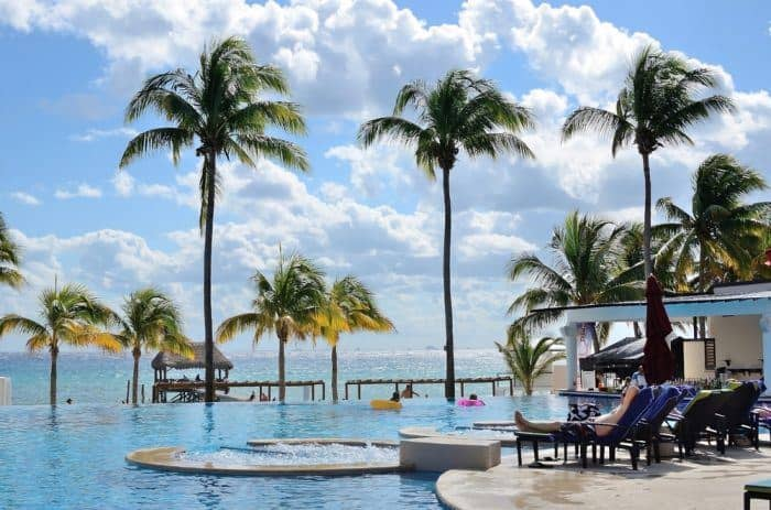 Azul Beach resort in Puerto Morelos on the Riviera Maya