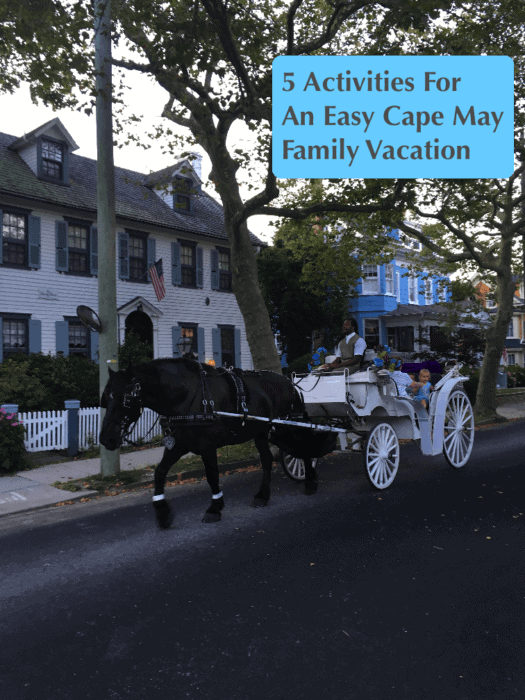 Cape may, new jersey is an easy and pretty destination for a summer beach week with kids and extended family.