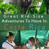Here is the scoop on where to see animals, where to find good ice cream and other tips on how to take young kids to costa rica. We also review a family friendly resort. #costarica #vacation #kids #thingstodo #wheretostay #hotels #food #tips
