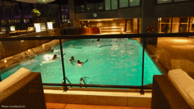 The hyatt regency montreal has a great pool