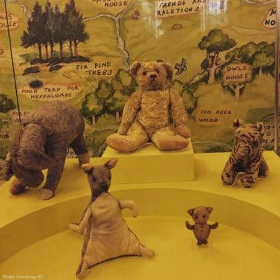 Visit winnie the pooh and friends at the new york public library