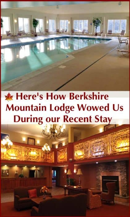 The berkshire mountain lodge is an all-suites hotel near lenox, ma in the berkshire mountains. It's central to hiking, biking and museums and has several amenities that families will appreciate incouding a nice pool. #berkshires #hotel #review
