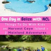 Ncl's harvest caye port of call offers shopping, adventure sports, an enormous pool and pool bar. But if you want to get off the private island and explore belize you have to book a shore excursion or a ticket on the ferry to placencia, a charming beach town. Here's how to enjoy 1 day in belize with kids. #kids #cruise #ncl #belize #harvestcaye #placencia #shoreexcursions