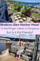 The Harbor Hotel in Watkins Glen is a luxury hotel with a wine-country feel on the southern tip of Seneca Lake. It's convenient to wineries, hiking and NASCAR racing, and is more kid friendly than you might expect. Read the review. #watkinsglen #fingerlakes #senecalake #harborhotel #kid-friendlyhotel #luxuryhotel #review