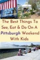 Pittsburgh is a safe, fun weekend destination with kids. It has great parks, neighborhoods,museums & more. Here's what to do and eat. And where to stay. #pittsburgh, #pennsylvania,, #thingstodo #restaurants #hotels #kids #weekend #inspiratiion