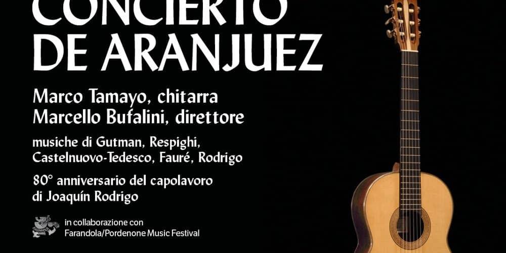 Concierto de Aranjuez – Roma 3 orchestra – Marco Tamayo, chitarra – Marcello Bufalini, direttore