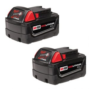 M18 Milwaukee Battery 2pk