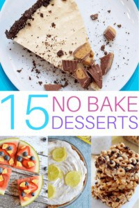 15 Easy No-Bake Desserts