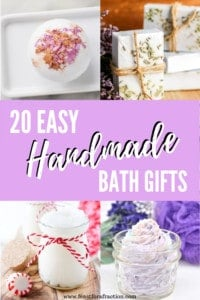 Easy Handmade Bath Gifts