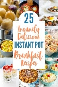 25 Insanely Delicious Instant Pot Breakfast Recipes