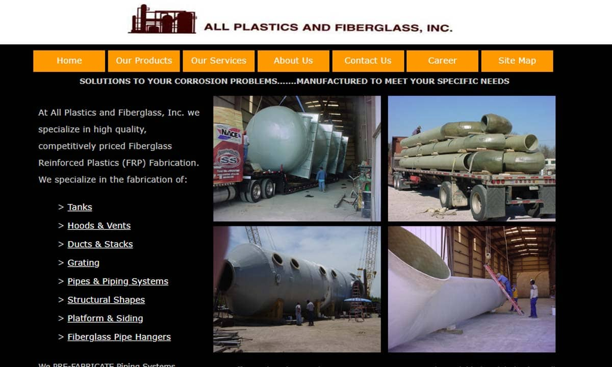 Fiberglass Fabrication Manufacturers Suppliers