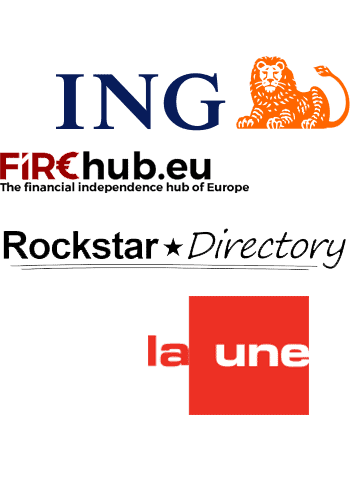 featuredd on various locations throughout the web, such as ING.be, RTBF La UNE, and firehub