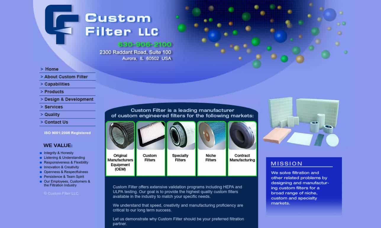 Custom Filter, LLC