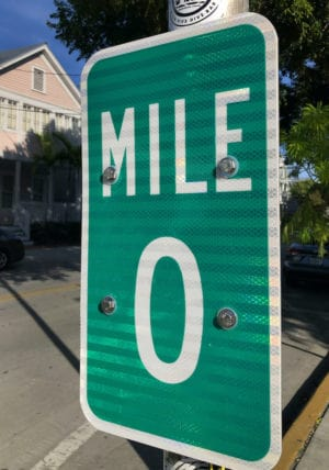 MileZeroSign Florida Keys Overseas Highway Mile-Markers Guide