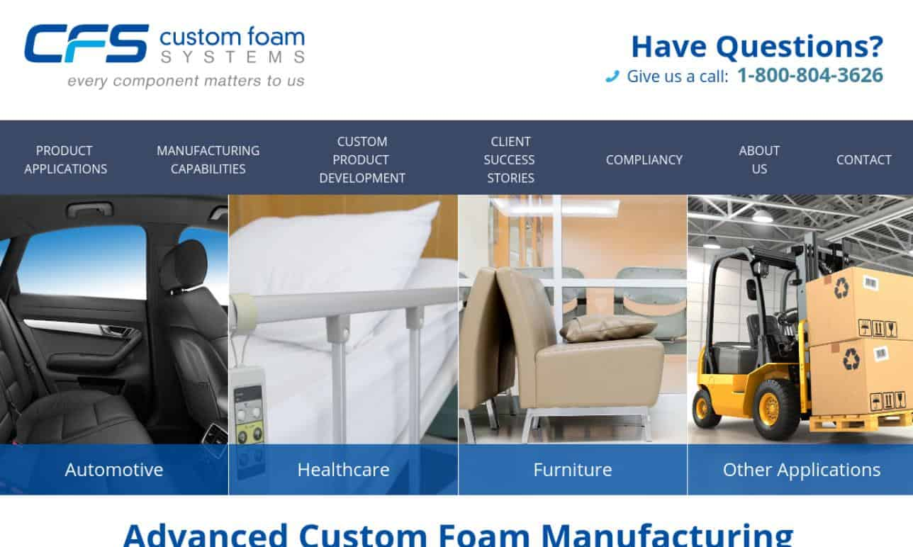 More Foam Fabricating Manufacturer Listings
