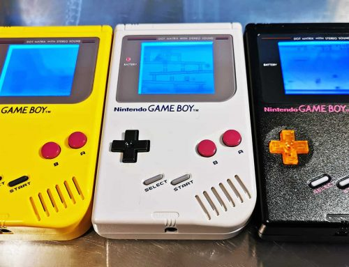 Latest round of modded DMG-01 finished: Meet Yellow, Gray and Black
