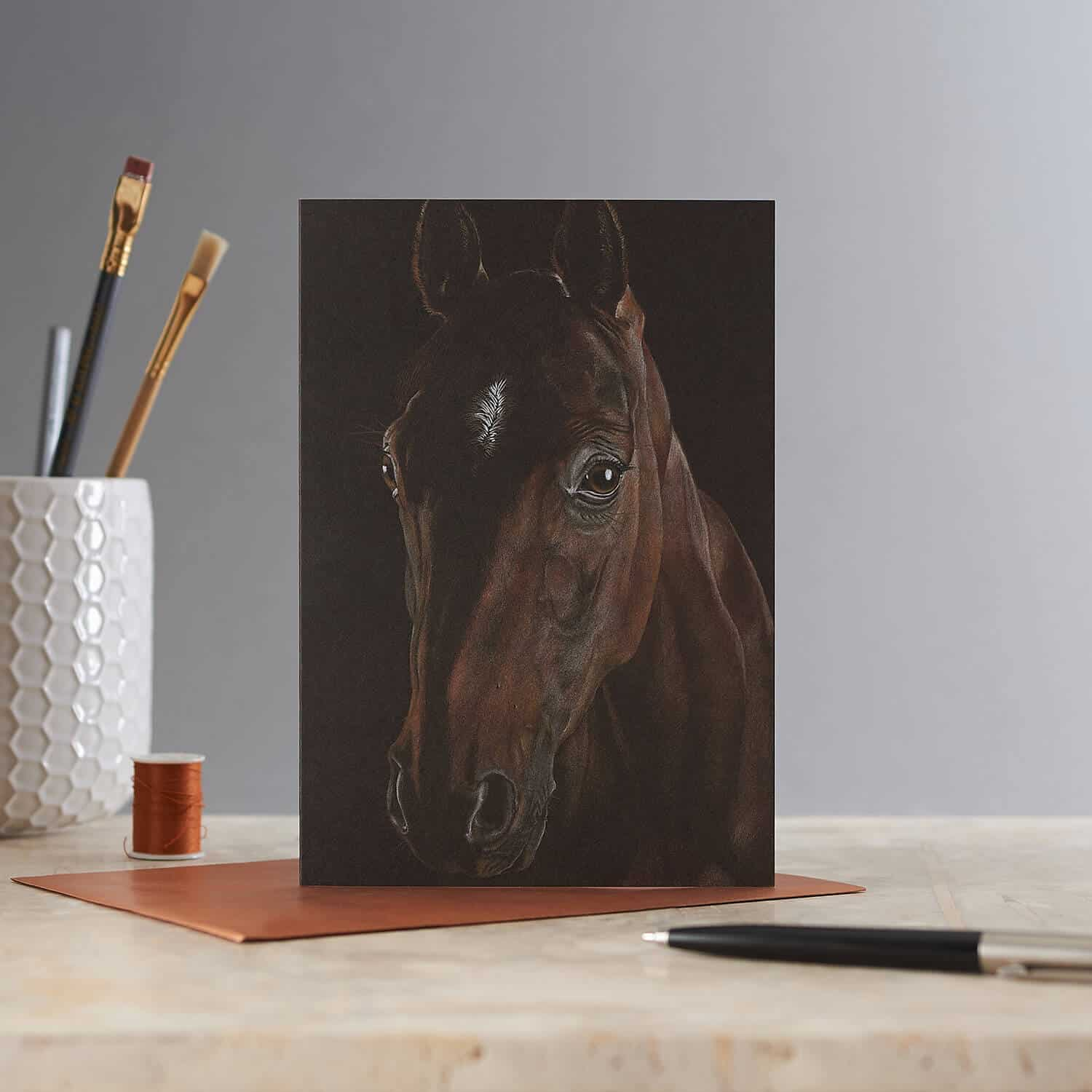 Greetings card photography for artist Janna Cossentini
