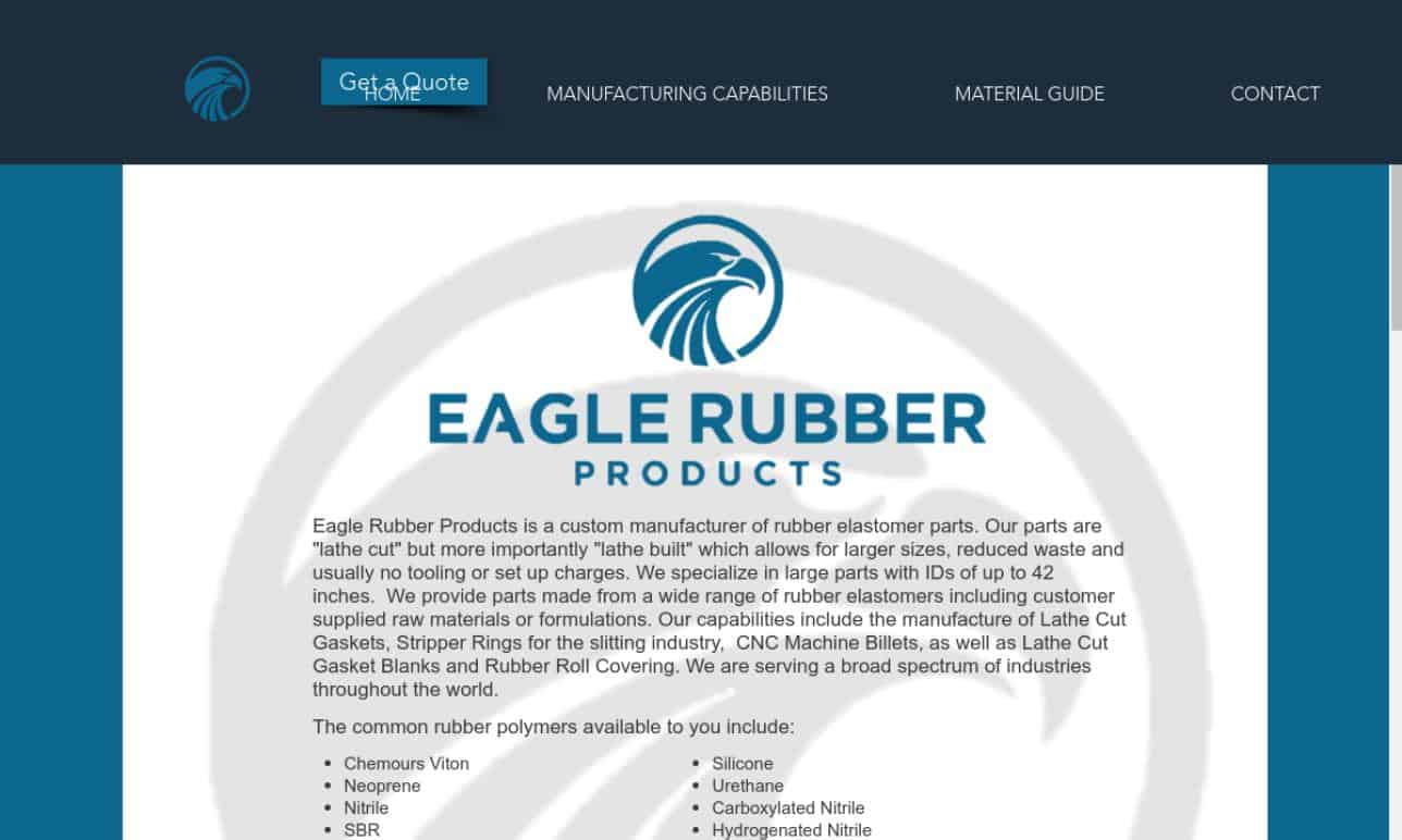 Eagle Rubber Products, Inc.