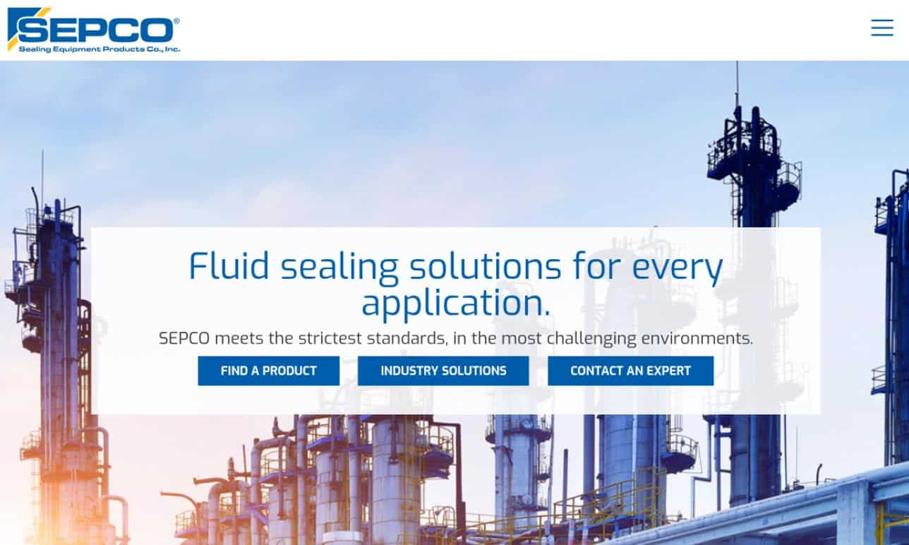 Sepco Sealing Equipment Products Co., In